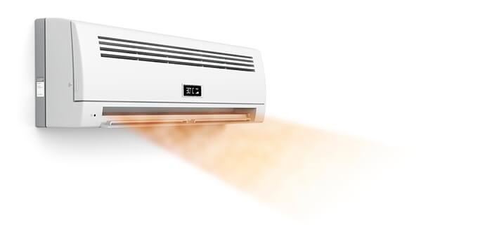 hot air conditioner