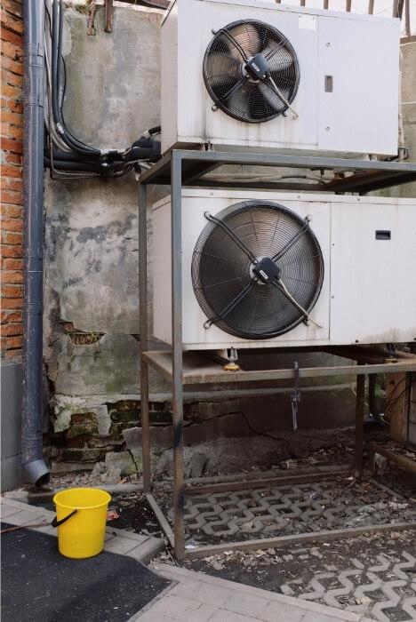 compressor blocks air condition system
